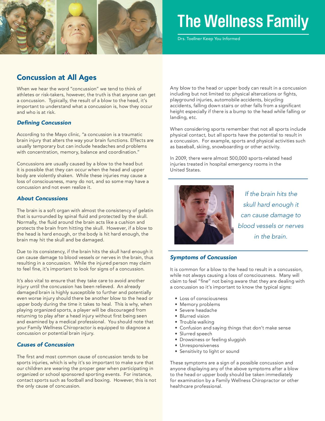 NEWSLETTER ON CONCUSSIONS page 001